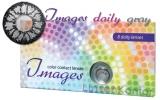 Farbige Kontaktlinsen mit Stärke Images daily gray
