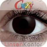 Farbige Kontaktlinsen Crazy Lenses Black Out