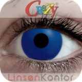 Farbige Kontaktlinsen Crazy Lenses Blue Out (Ocean)