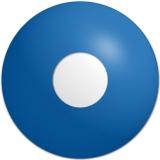 Farbige Kontaktlinsen Crazy Lenses Blue Out (Ocean)