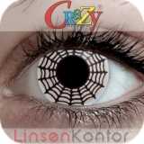 Farbige Kontaktlinsen Crazy Lenses Spider