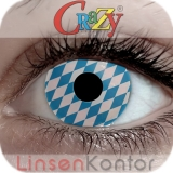 Farbige Kontaktlinsen Crazy Lenses Oktoberfest Bavaria